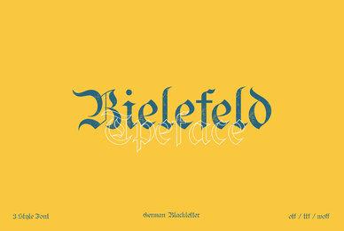 Bielefeld Typeface