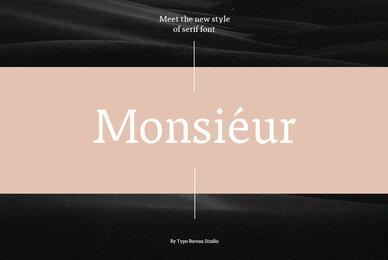 Monsieur Serif