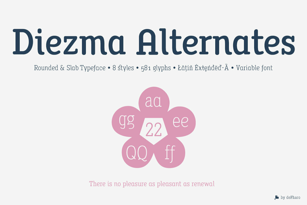 Diezma Rounded