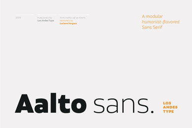 Aalto Sans