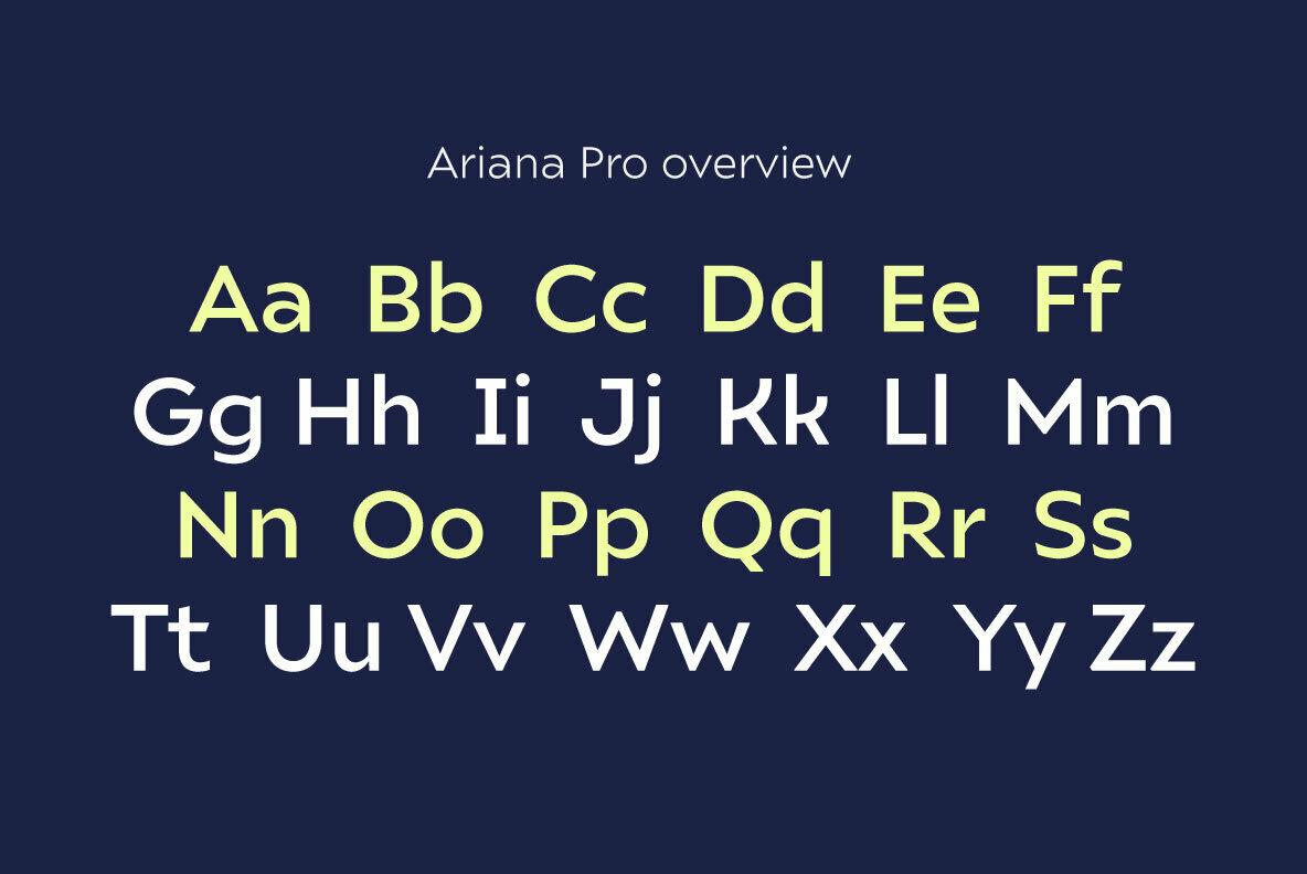 Ariana Pro