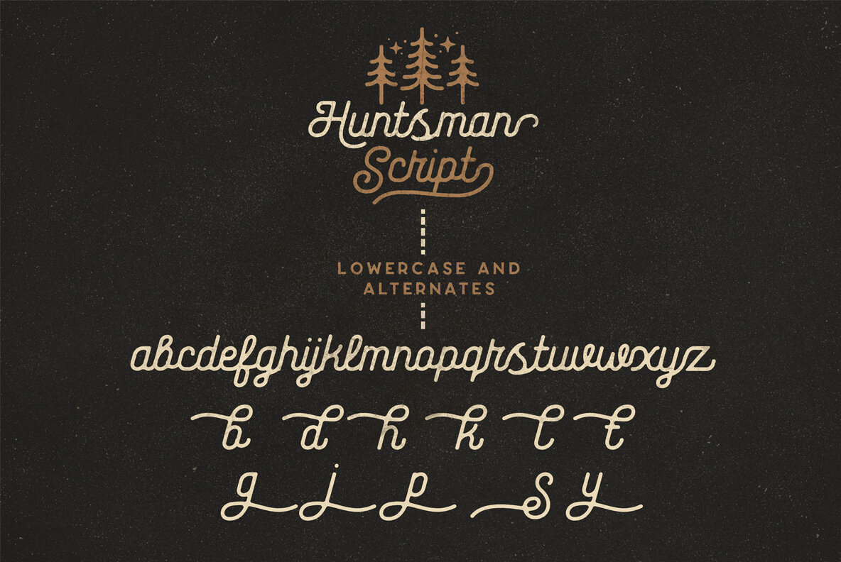 The Huntsman Script and Sans