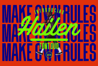 Hailen Font Duo