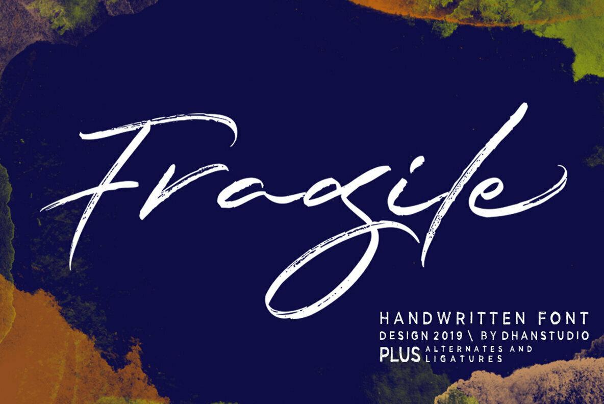 Fragile Script
