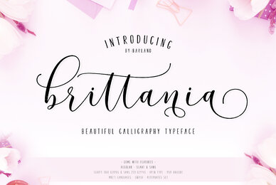 Brittania Script