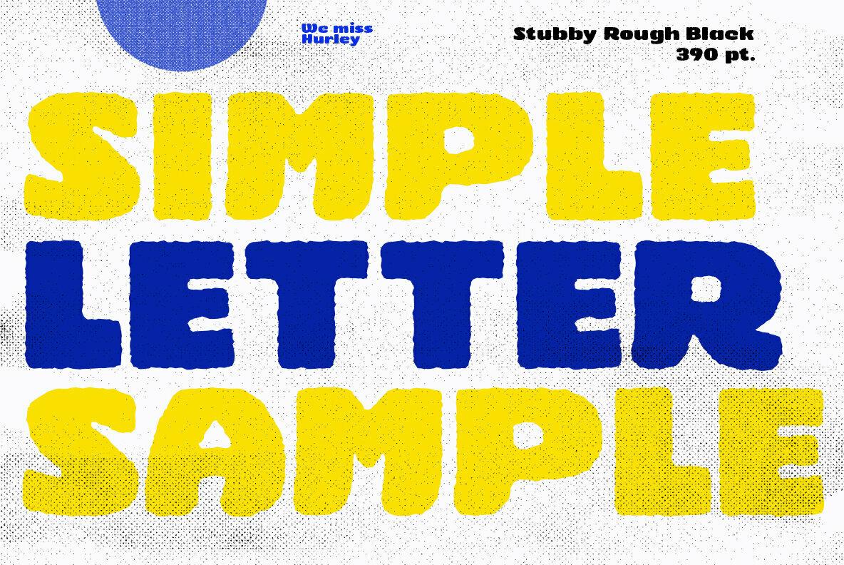 Stubby Rough