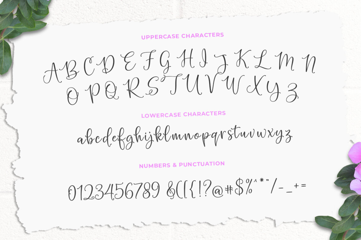 Hello Blushberry Font Duo