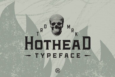 Hothead Typeface