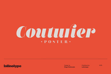 Couturier Poster