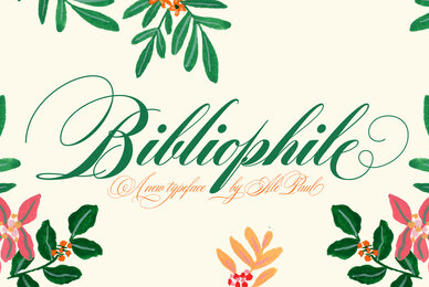 Bibliophile Script
