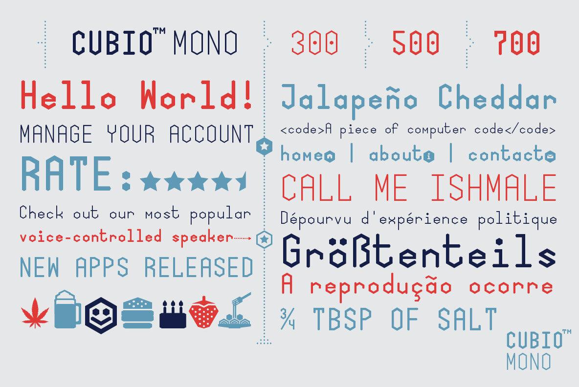 Cubio Mono