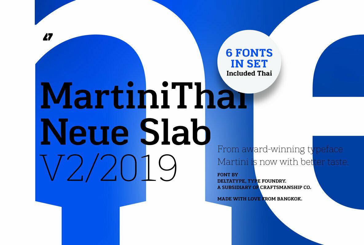 MartiniThai Neue Slab V2