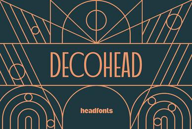Decohead Typeface