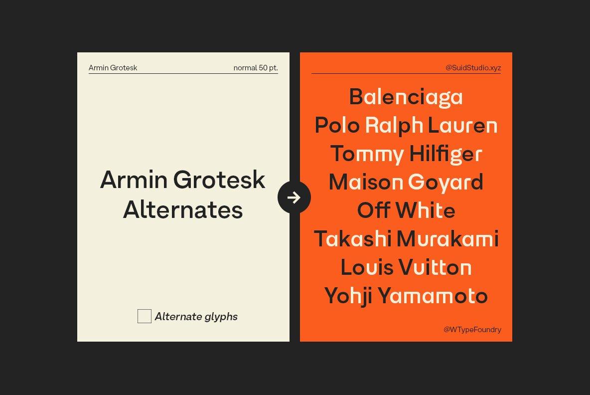 Armin Grotesk