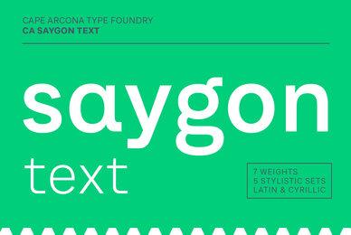 CA SaygonText