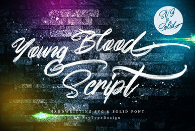 Young Blood SVG and Solid