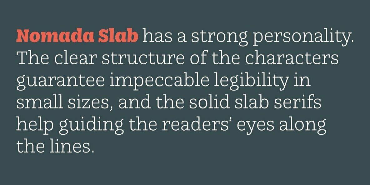 Nomada Slab