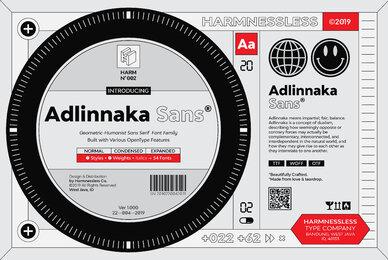 Adlinnaka Sans