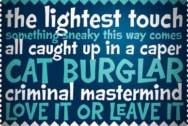 Cat Burglar PB