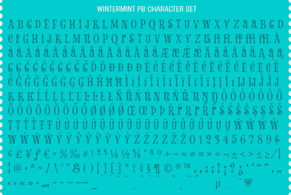 Wintermint PB