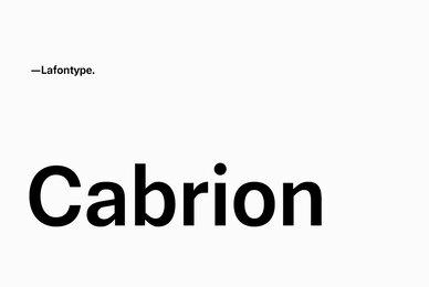 Cabrion