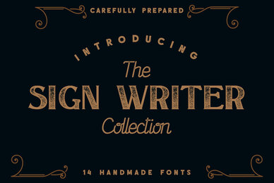 The Sign Writer Collection