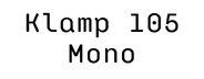 Klamp 105 Mono