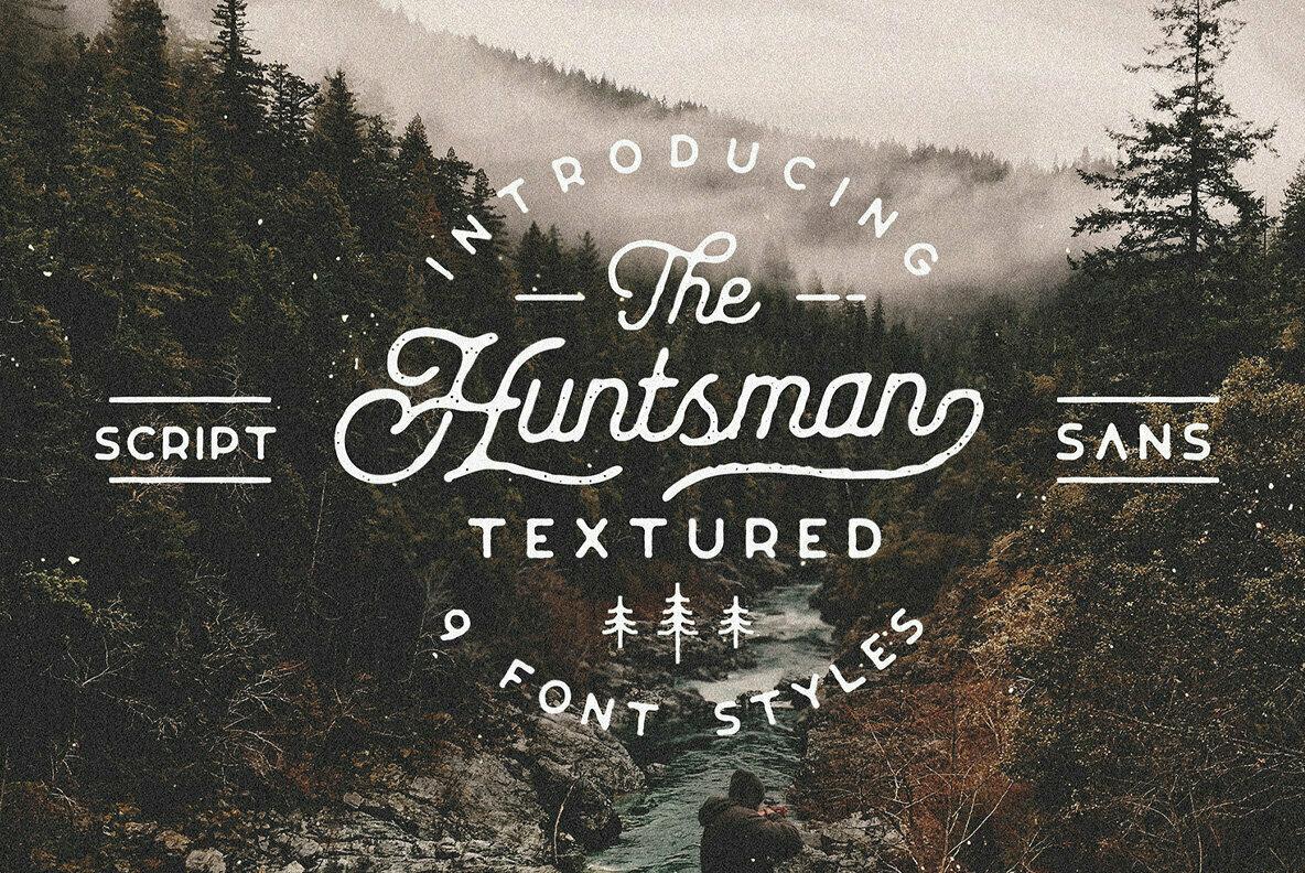 The Huntsman Textured Script and Sans