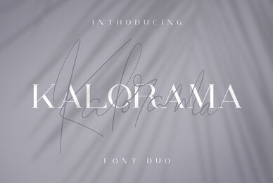 Kalorama Font Duo