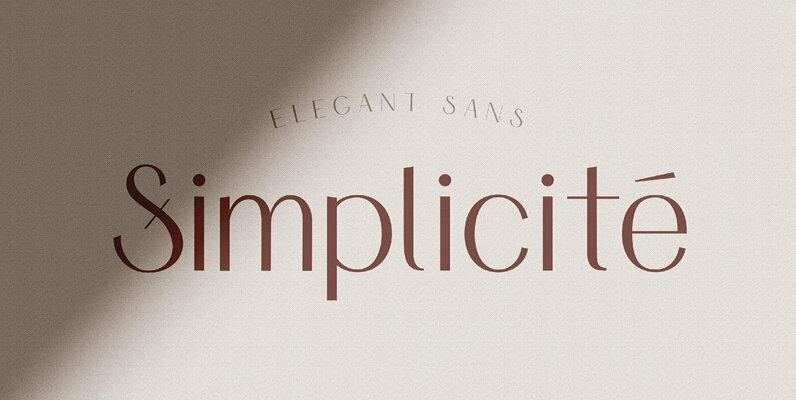 Simplicite