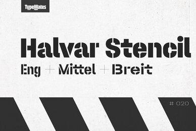 Halvar Stencil