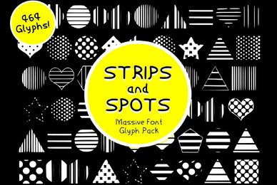Strips and Spots