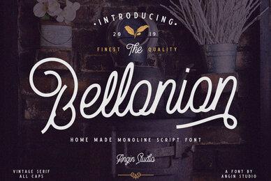 Bellonion Font Duo