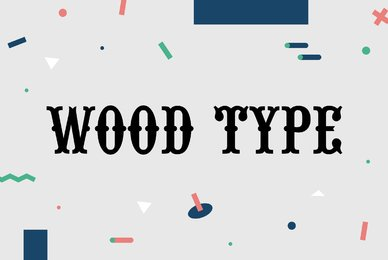 URW Wood Type