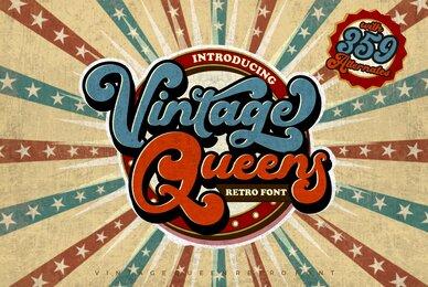 Vintage Queens