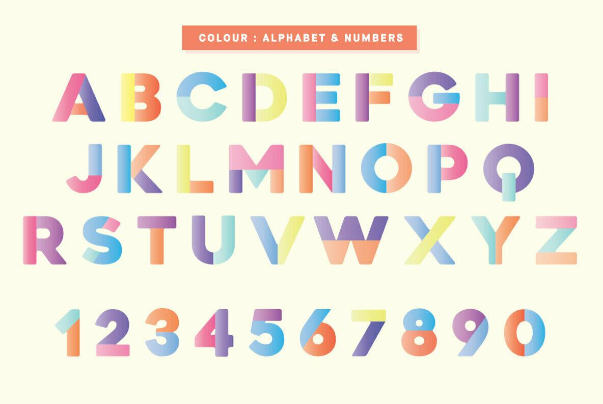 Newport Tracks Colour Font