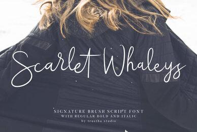Scarlet Whaleys