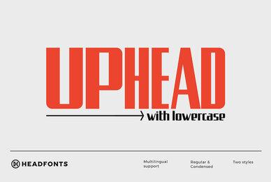 Uphead Typeface
