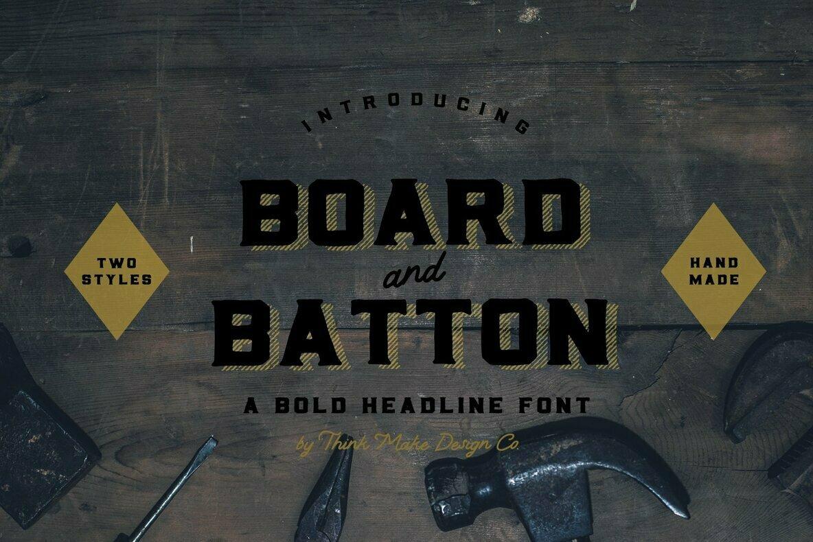 Board and Batton