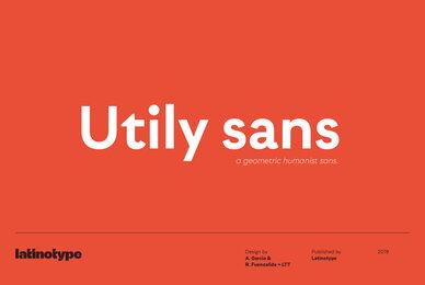 Utily Sans