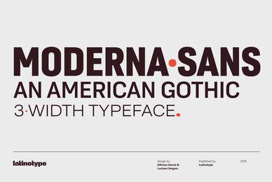 Moderna Sans