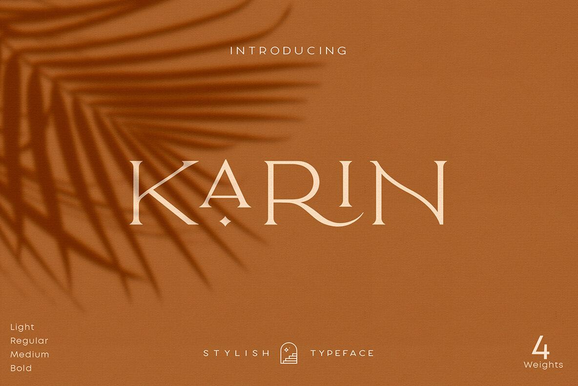 Elegant Karin