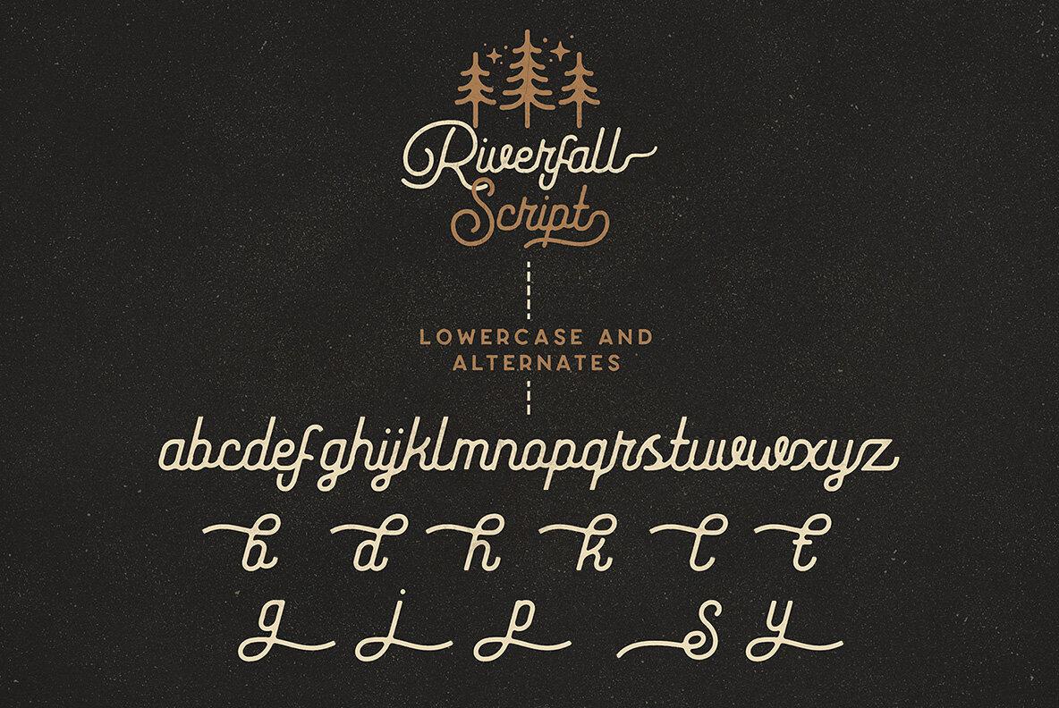 Riverfall Semi Rounded