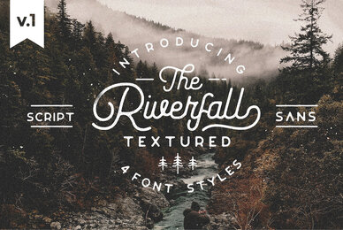 Riverfall Rounded Textured