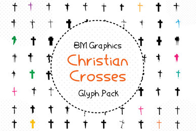 BM Graphics   Christian Cross