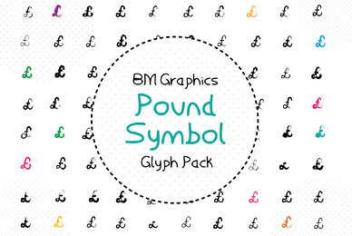 BM Graphics   Pound Symbol