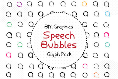 BM Graphics   Speech Bubbles