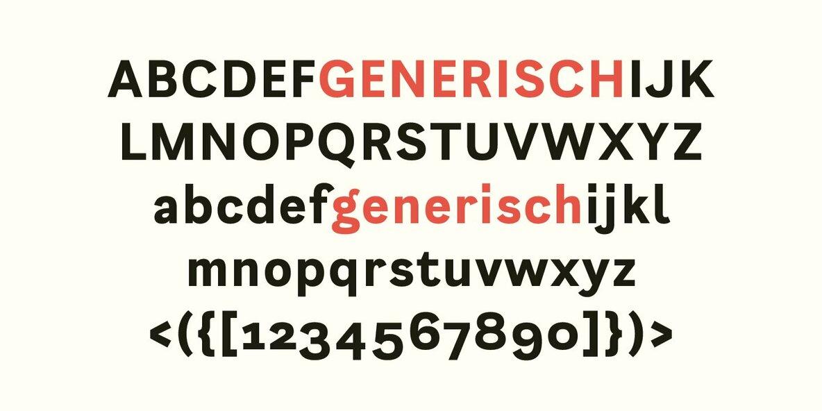 Generisch Sans