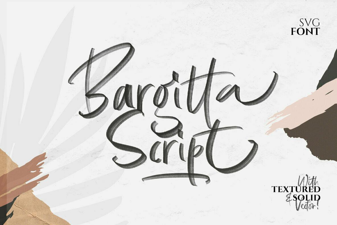 Bargitta Script   SVG Font