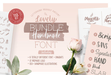 Olive   Hand Lettering Tool Kit